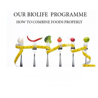 This programme is to help you combine your foods properly and prevent diseases by keeping the body in an alkaline state